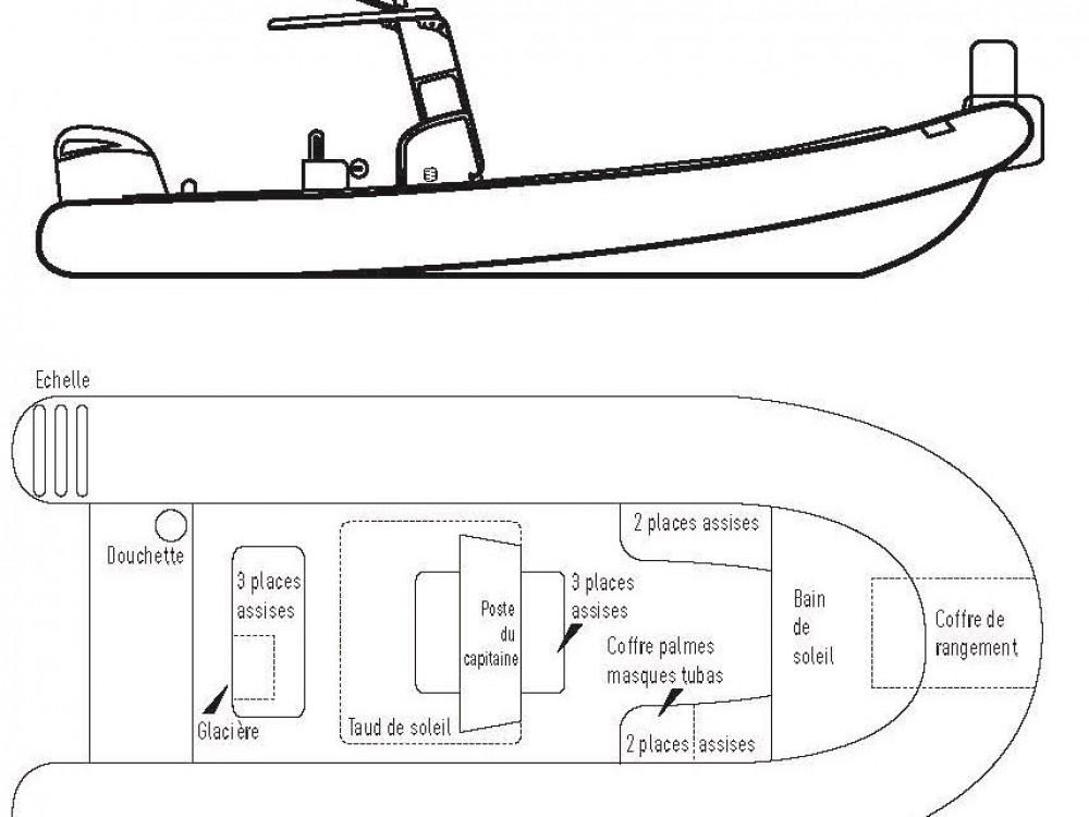 Rental Motorboat in Marseille - Cantieri Tempest 900