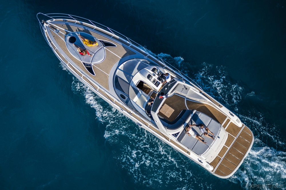 Numarine 52S between personal and professional Saint-Tropez