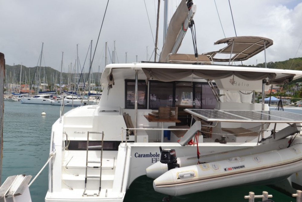 Boat rental Fountaine Pajot Helia 44 in Saint Martin (France) on Samboat