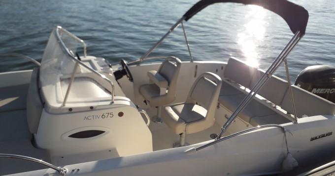 Boat rental Arcachon cheap Activ 675 Sundeck