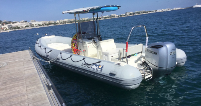 Rental RIB in Cannes - Bwa Seven Fifty