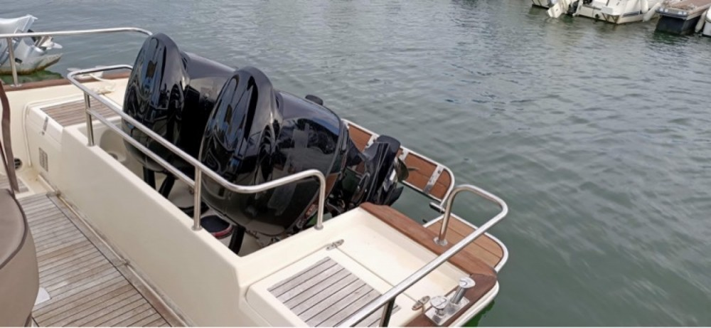 Rental Motorboat in Arcachon - Beacher Beacher 840