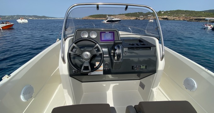 Rental yacht Sant Antoni de Portmany - Quicksilver Activ 605 Open on SamBoat