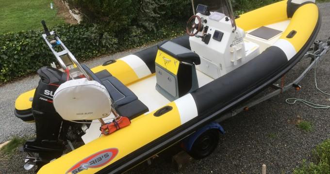 Rental yacht Moëlan-sur-Mer - Searib's 580 open on SamBoat