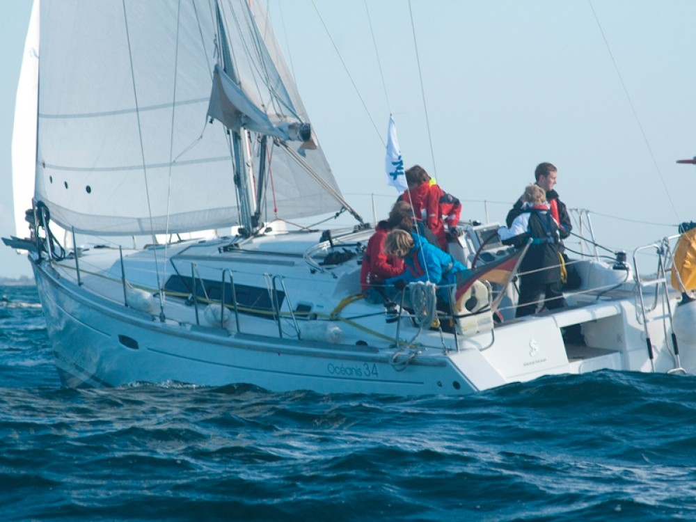 Boat rental  cheap Oceanis 34