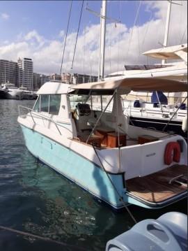Boat rental Palma de Mallorca cheap Merry Fisher 750 Cruiser