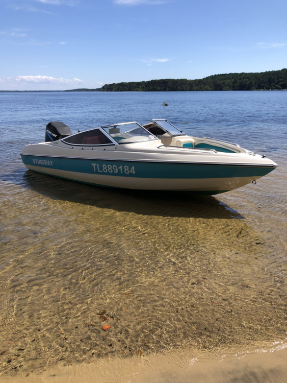Boat rental Stingray 551 zp in Parentis-en-Born on Samboat