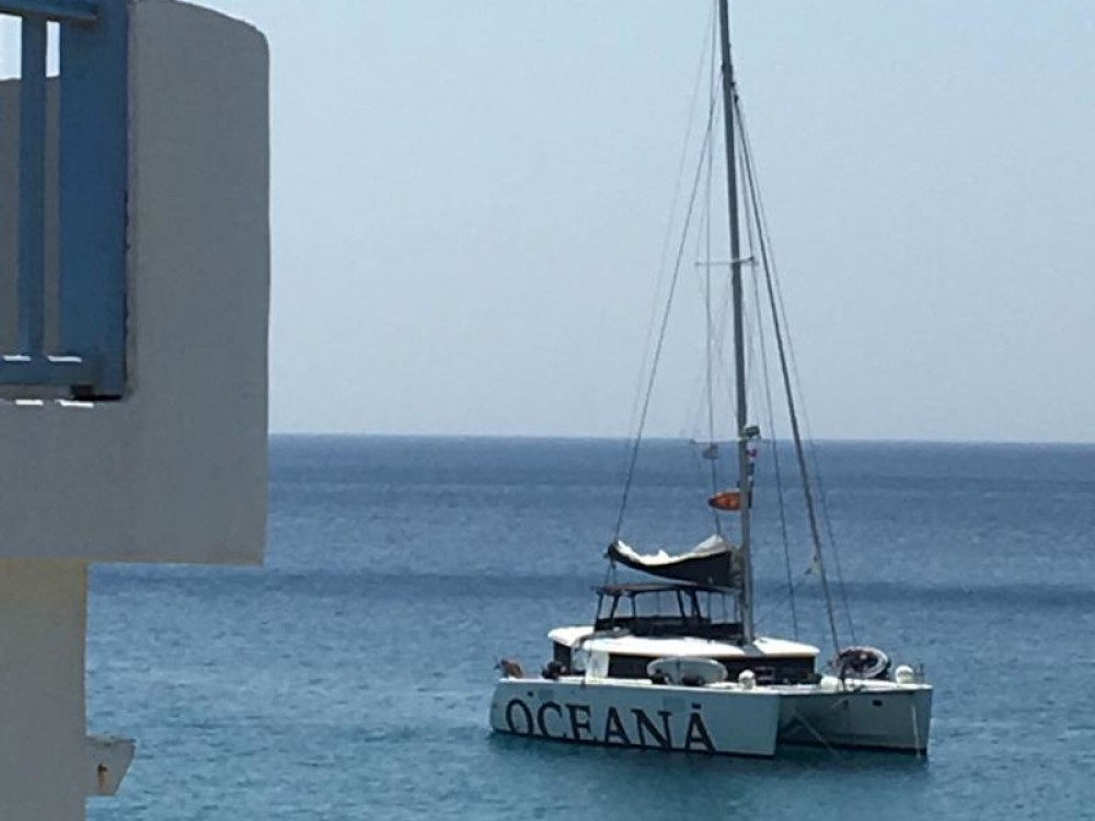 Catamaran for rent Piraeus at the best price