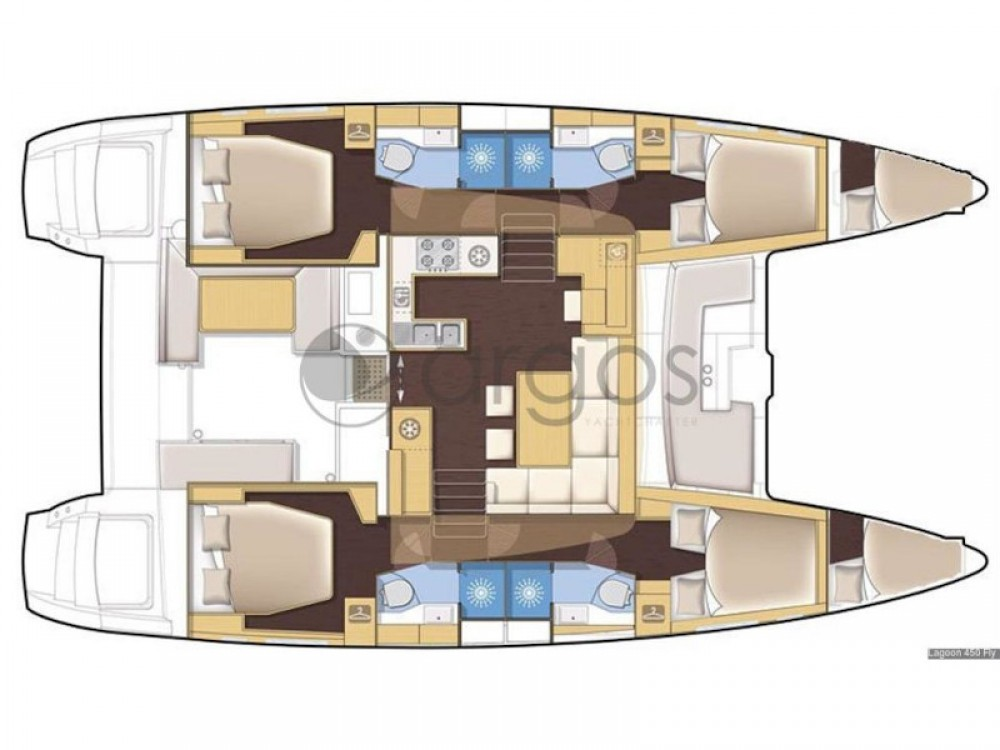 Lagoon Lagoon 450 Flybridge between personal and professional Piraeus