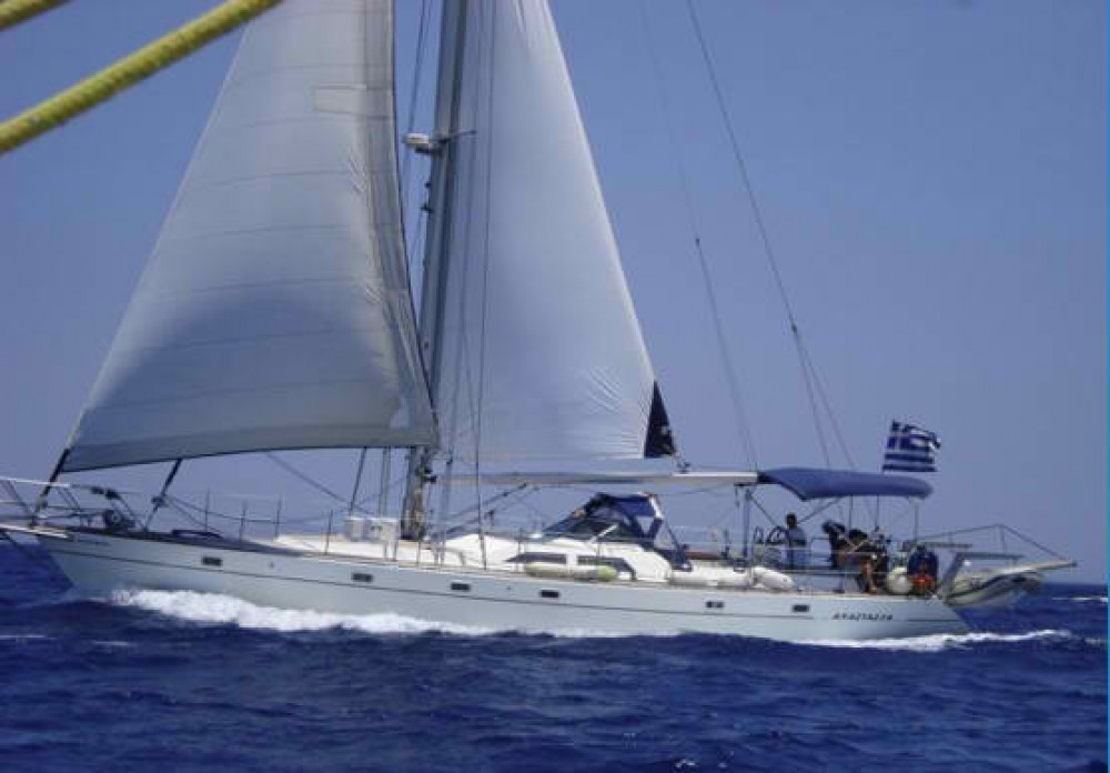 Hire Sailboat with or without skipper Atlantic Áno Sýros