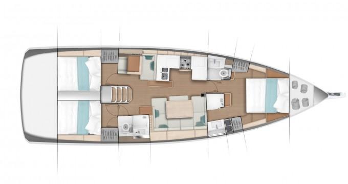 Boat rental Jeanneau Sun Odyssey 490 in Limassol on Samboat
