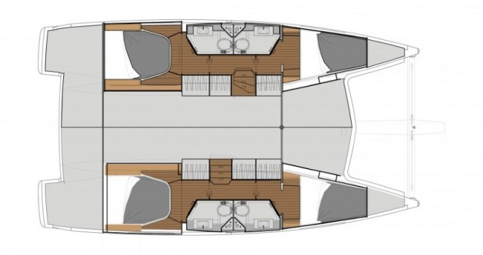 Rental yacht Marmaris - Fountaine Pajot Lucia 40 on SamBoat