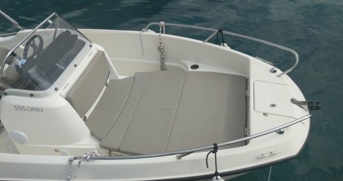 Rental yacht Makarska - Quicksilver Activ 555 Open on SamBoat