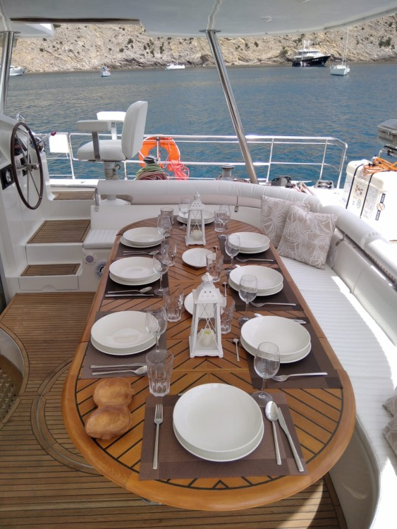 Fountaine Pajot Marquises 56 between personal and professional Ibiza
