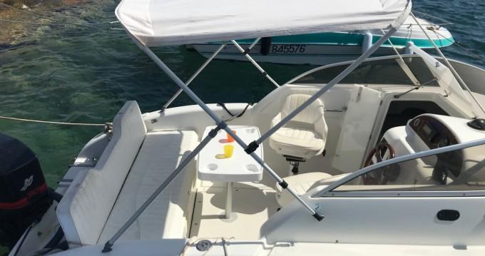 Boat rental Ajaccio cheap Oyster 20