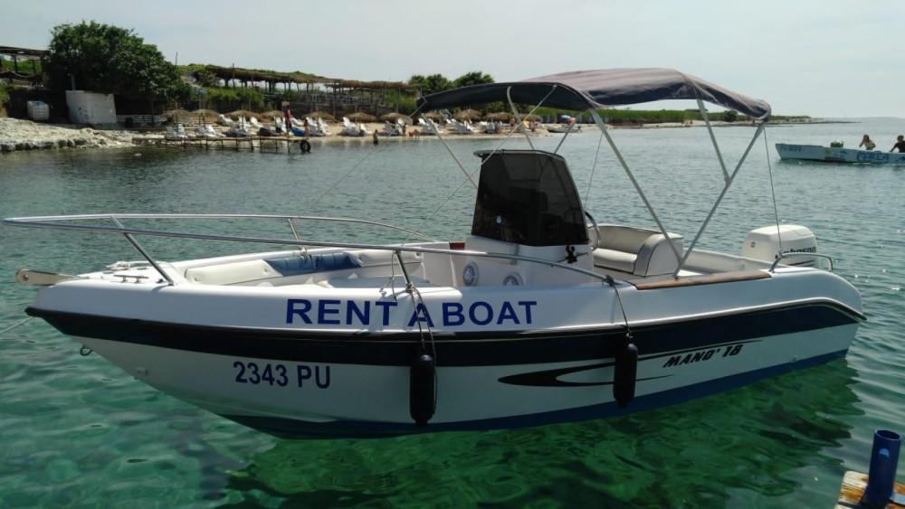 Rental Motorboat in Medulin - Mano Marine 18