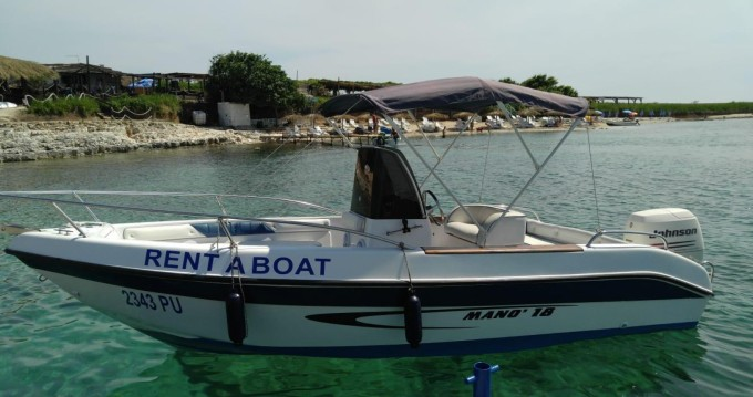 Boat rental Mano Marine 18 in Medulin on Samboat