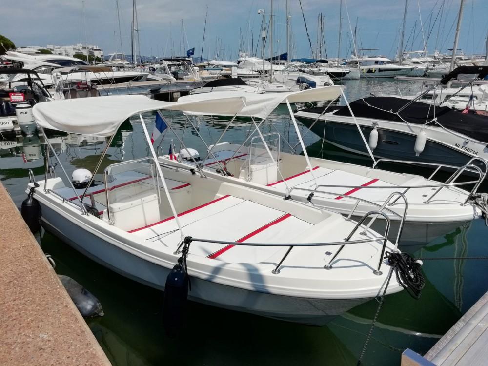 Boat rental Mandelieu-la-Napoule cheap Tiller 480