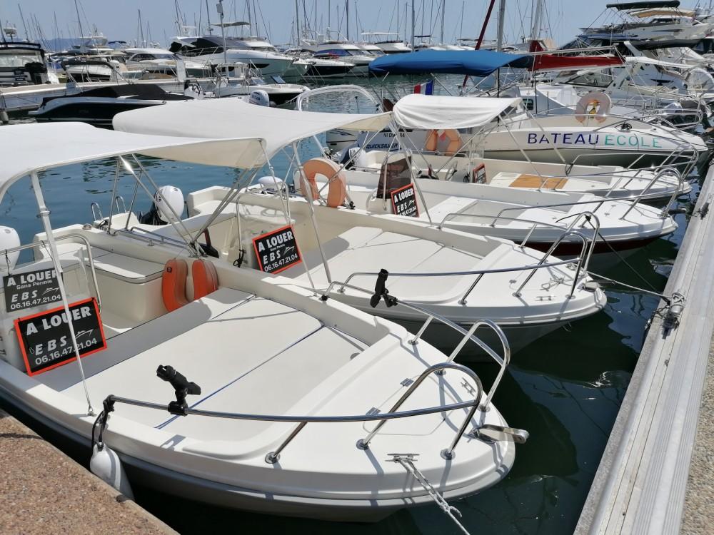Rental yacht Mandelieu-la-Napoule - Selva Tiller 480 on SamBoat