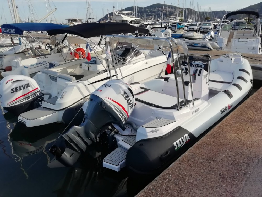 Hire RIB with or without skipper Selva Mandelieu-la-Napoule