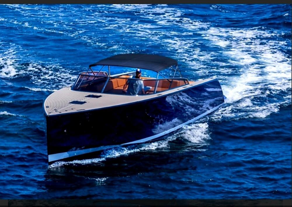 Rental Motorboat VanDutch with a permit