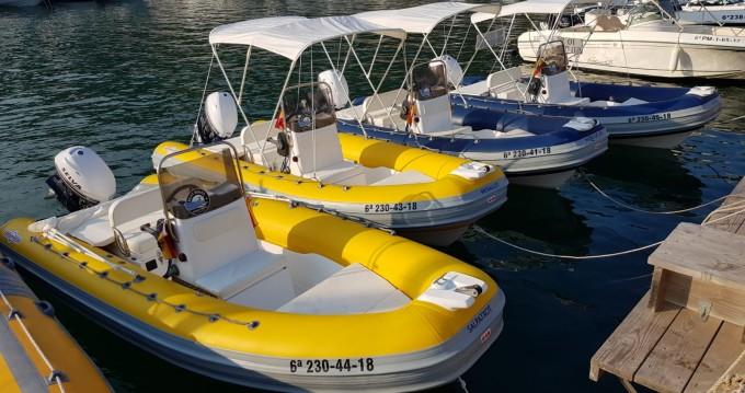 Boat rental Gommonautica Gommonautica G48C in l'Estartit on Samboat