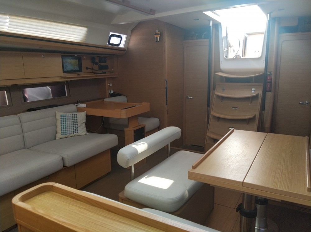 Dufour Dufour 512 Grand Large between personal and professional Agde