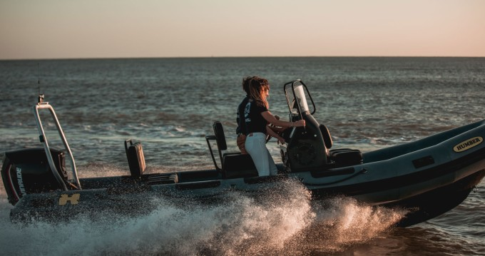 Hire RIB with or without skipper Humber Royan