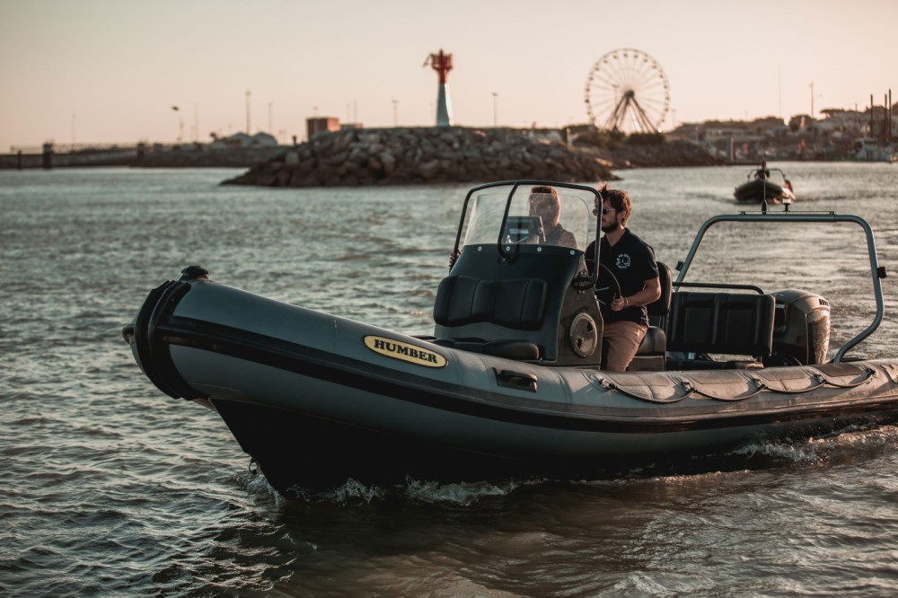 Rental RIB Humber with a permit