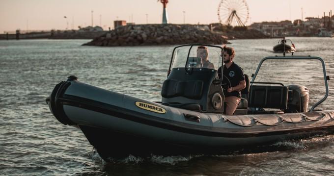 Rental RIB in Royan - Humber Ocean Pro 6,3