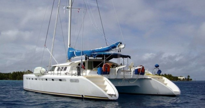 Rent a Fountaine Pajot Marquises 56 Ibiza Town
