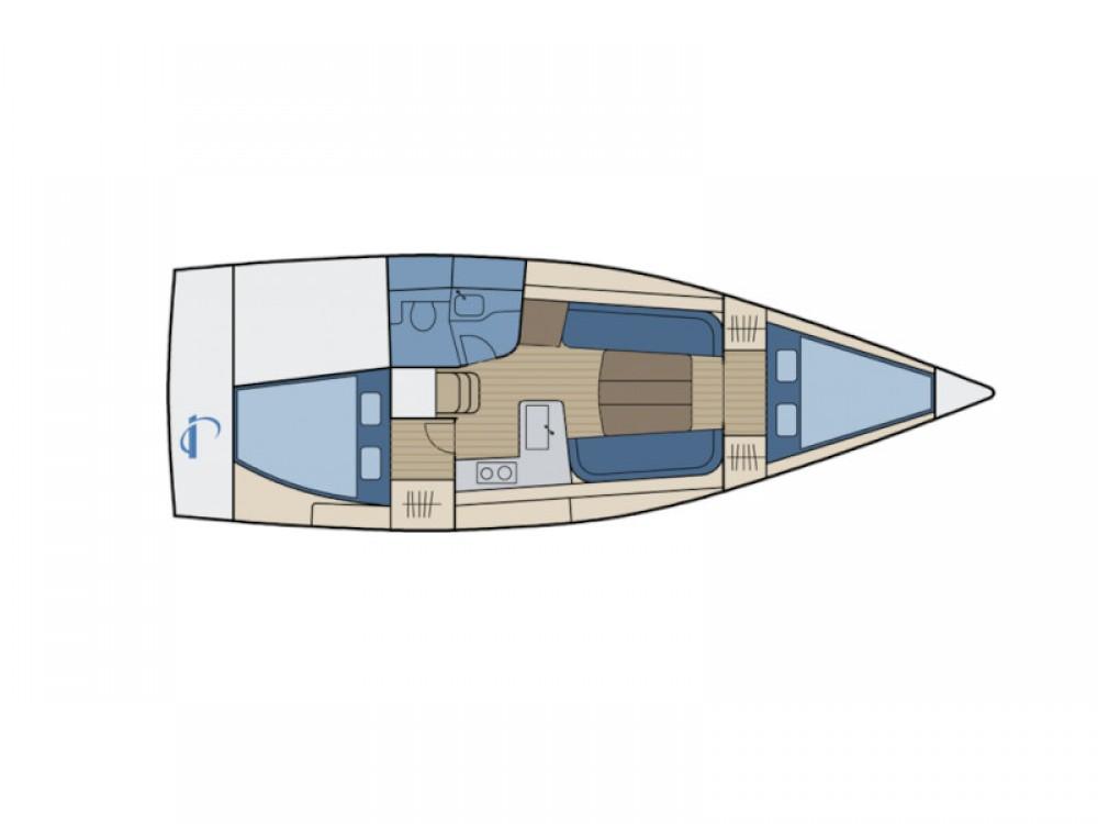 Rental Sailboat in Altefähr - Dehler Dehler 34