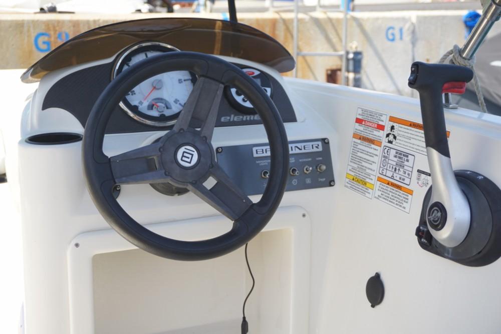 Boat rental Nerja cheap Element 160