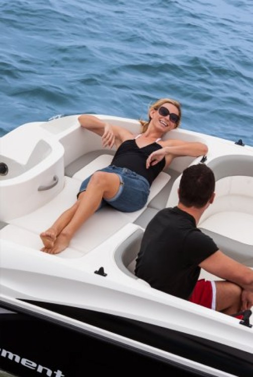 Bayliner Element 160 between personal and professional Nerja