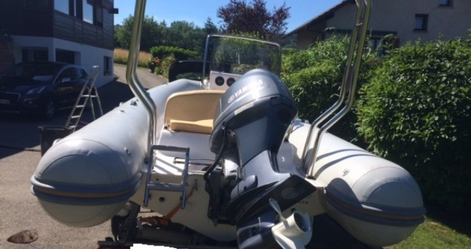 Hire RIB with or without skipper Capelli Annecy