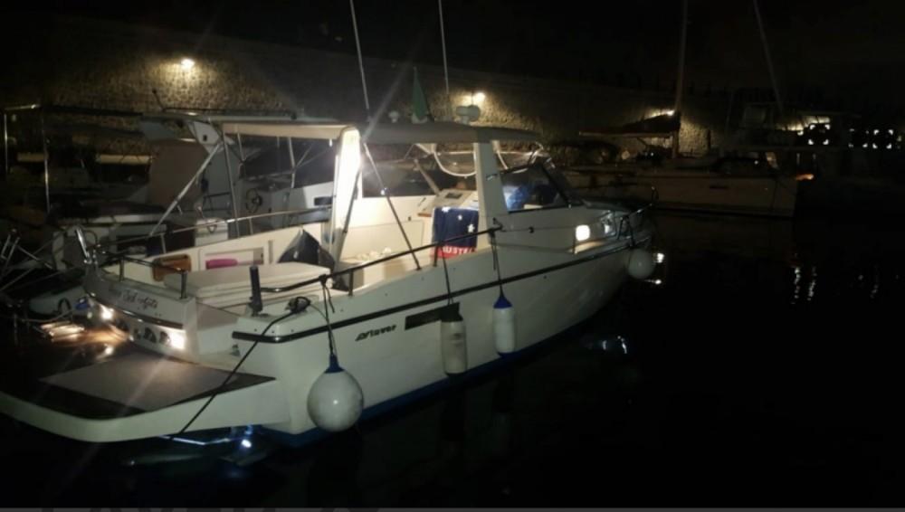 Rental Motorboat in Torre del Greco - Salpa Laver 28