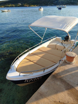 Hire Motorboat with or without skipper pasara 430 Stara Novalja