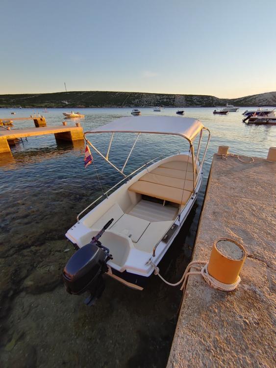 Rental Motorboat in Stara Novalja - pasara 430 6