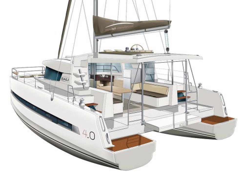 Rental yacht Le Marin - Bali Catamarans Bali 4.0 on SamBoat