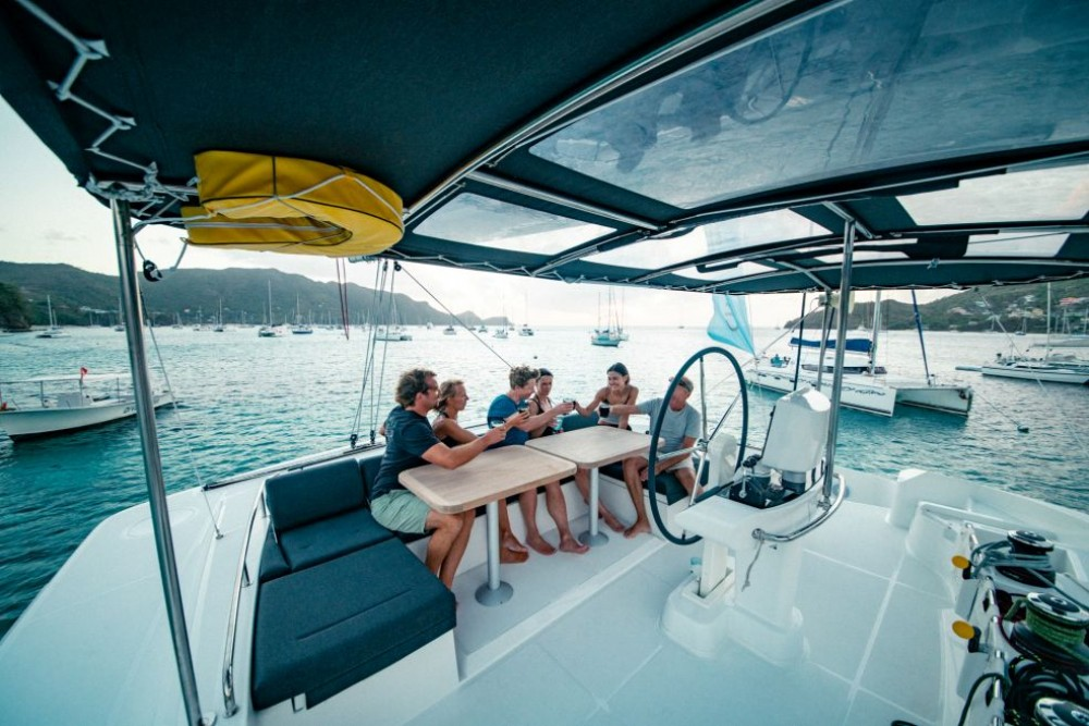 Boat rental Olbia cheap Lagoon 52