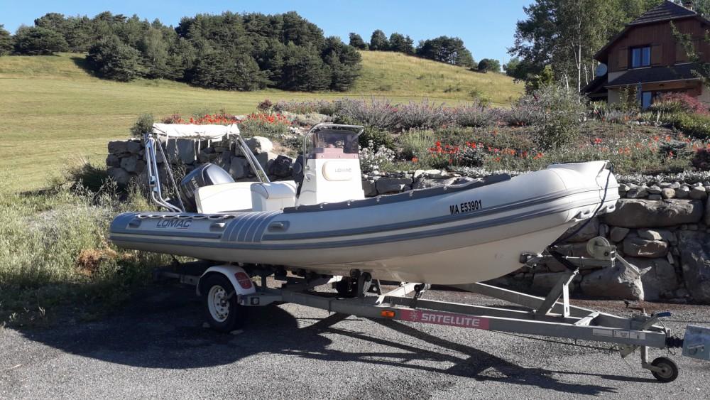 Boat rental Hyères cheap Lomac 600 IN