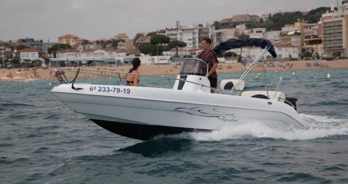 Boat rental Blanes cheap Sport Line 19