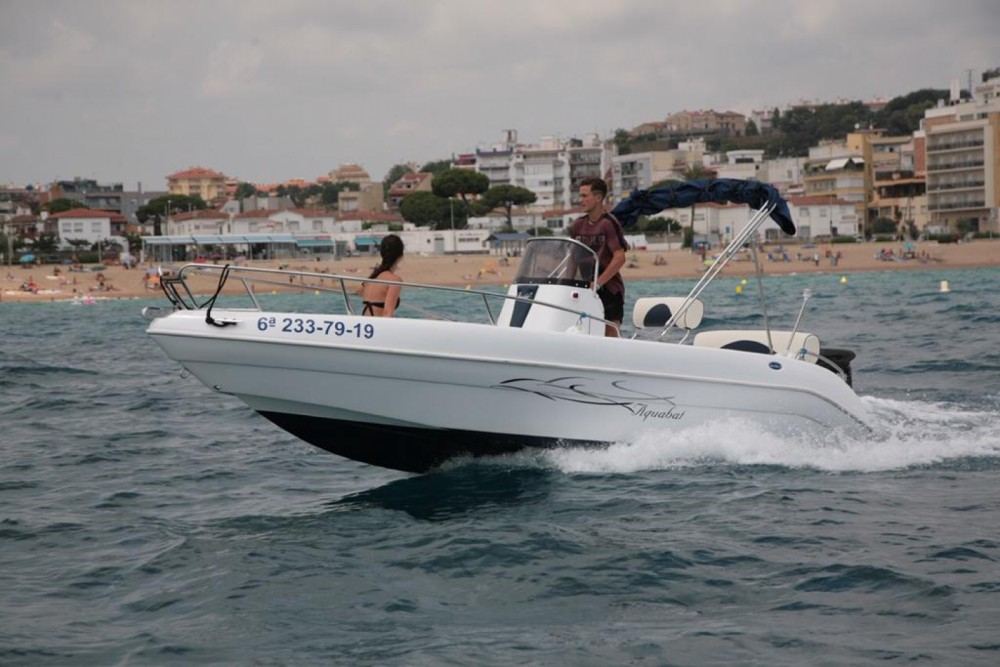 Rental Motorboat in Blanes - Aquabat Sport Line 19
