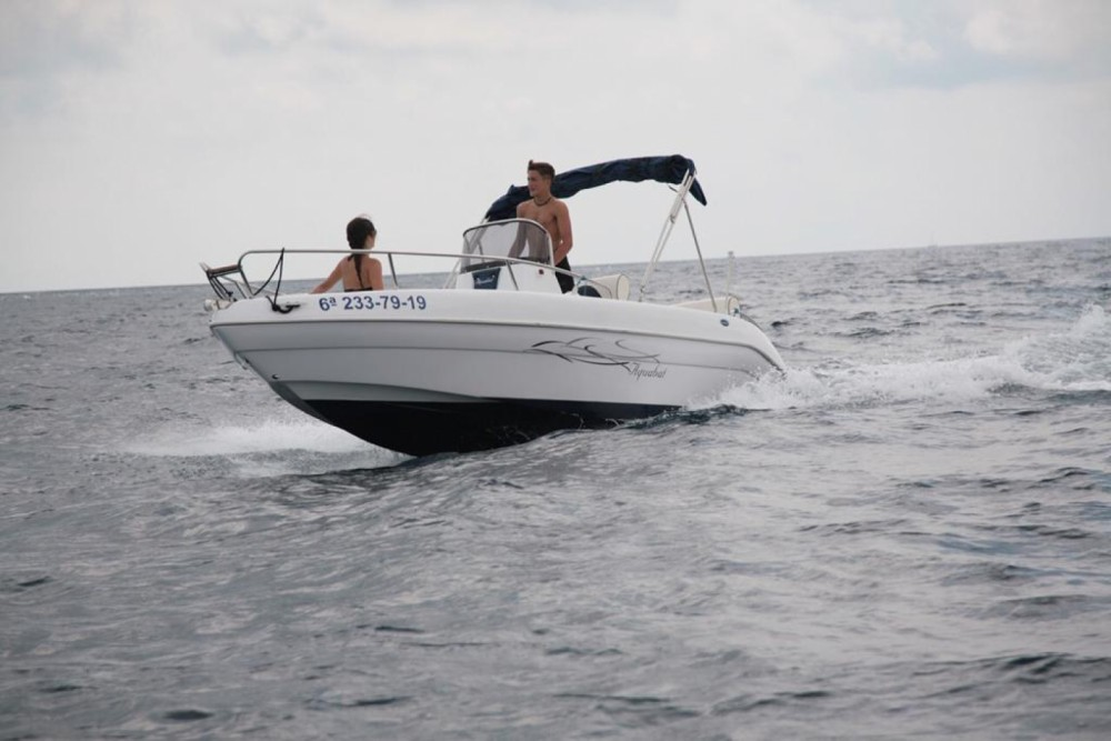 Hire Motorboat with or without skipper Aquabat Blanes
