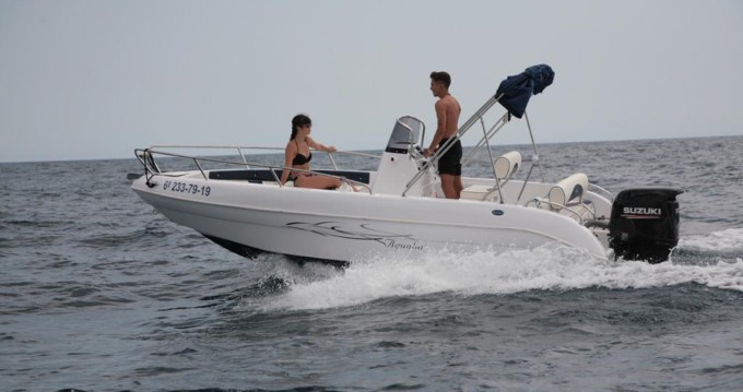 Boat rental Blanes cheap Sport lime 19