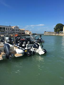 Rental RIB in Saint-Martin-de-Ré - Humber ocean pro 6.30