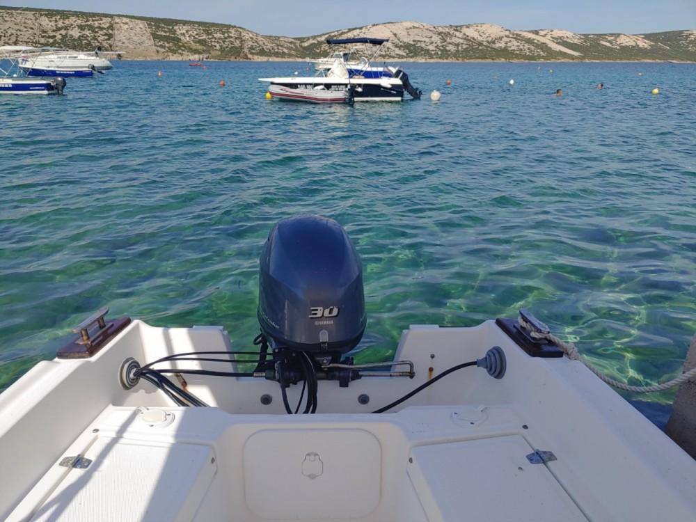 Boat rental Stara Novalja cheap 500