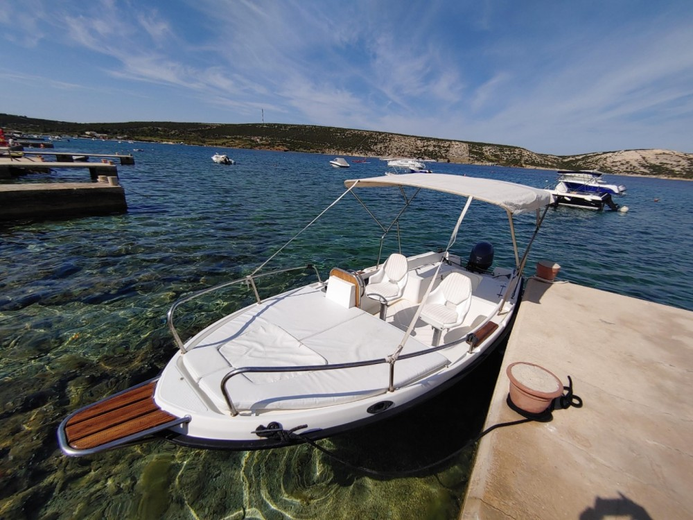 Hire Motorboat with or without skipper Nautica Stara Novalja
