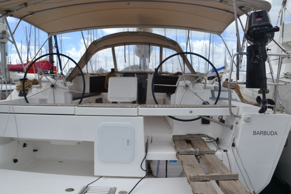 Rental Sailboat in Le Marin - Dufour Dufour 412