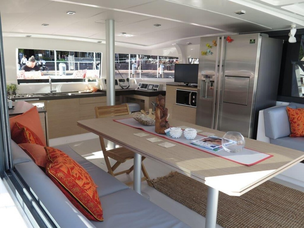 Catana Bali 4.3 between personal and professional Saint Martin (France)